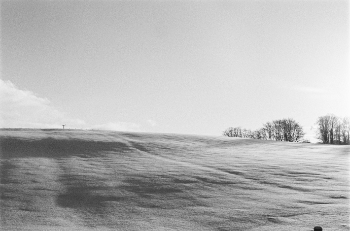 Snowscapes in Scotland, on 35mm
