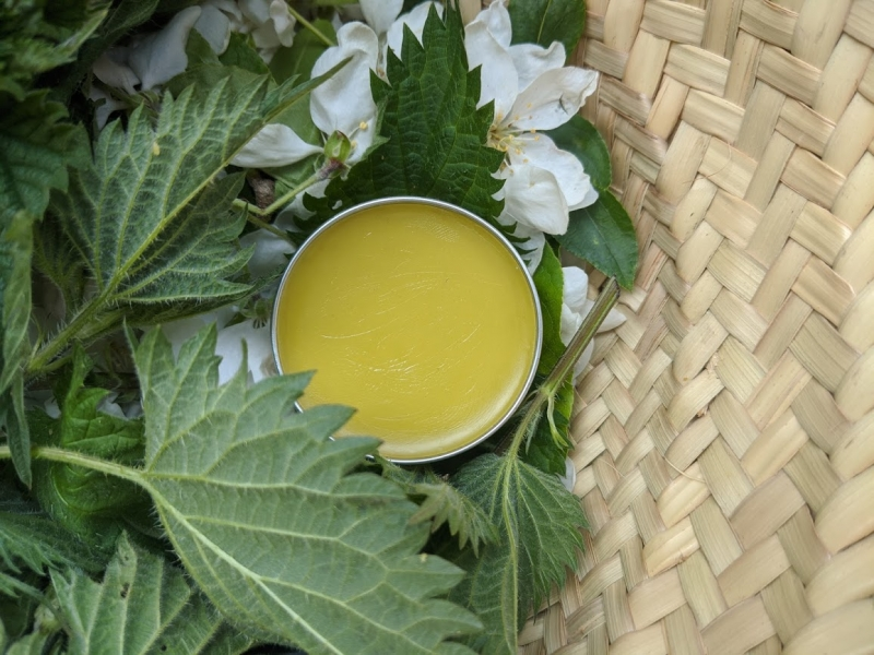 Comfrey and Chickweed Green Balm